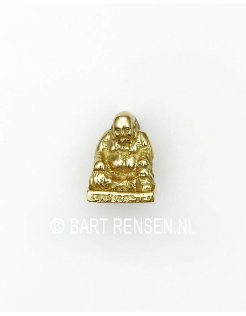 Laughing buddha pendant gold laughing buddha pendant 14 carat gold aloadofball Image collections