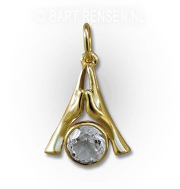 Namasté pendant - gold