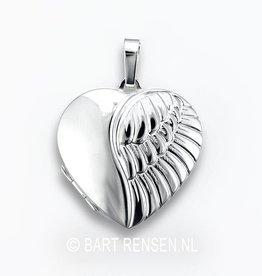 Medaillon Engelvleugel - zilver
