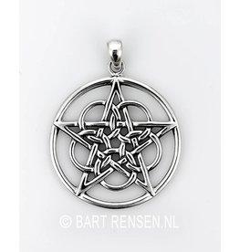 Pentagram hanger Cirkels