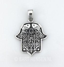Fatima Hand pendant- silver