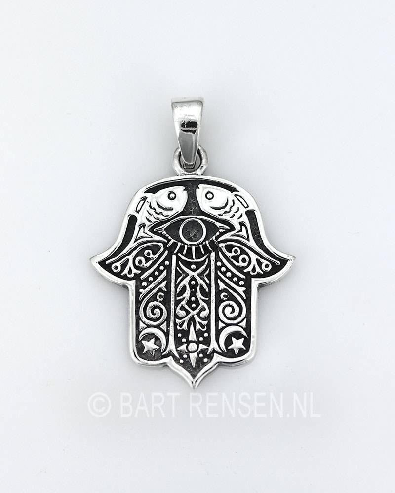 Fatima hand pendant silver fatima hand pendant silver 925 mozeypictures Gallery