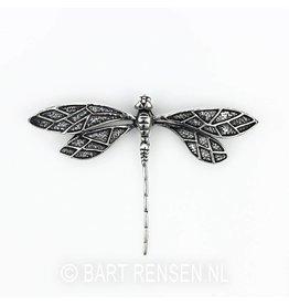 Libelle hanger - zilver