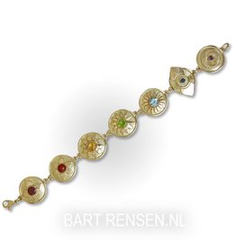Gouden Chakra armband