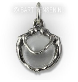 Female - pendant - silver