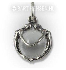 Vrouwen hanger - zilver