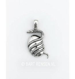 Slang hanger - zilver