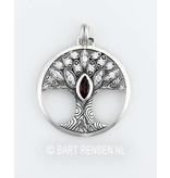 Levensboom hanger - echt zilver