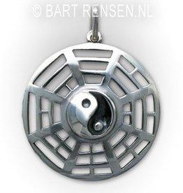 Yin-Yang pendant  - Silver