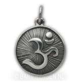 AUM pendant - sterling silver