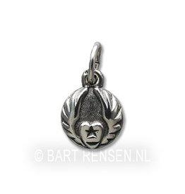 Sufi pendant - silver