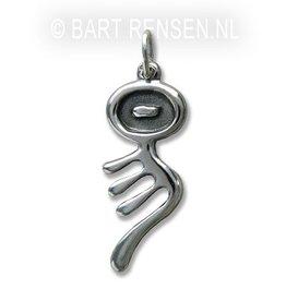 I Tjing pendant - Silver