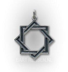 Octagram pendant - Silver