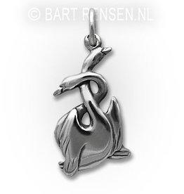 Swan Pendant - Silver