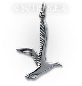 Seagull Pendant - Silver