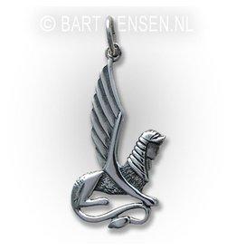 Sfinx hanger - zilver