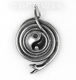 Yin-Yang Spiral-Snake pendant