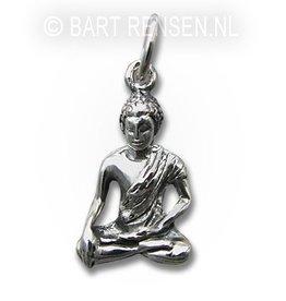 Boeddha hanger - zilver