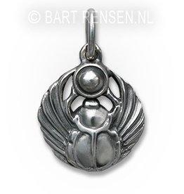 Scarabee hanger - zilver