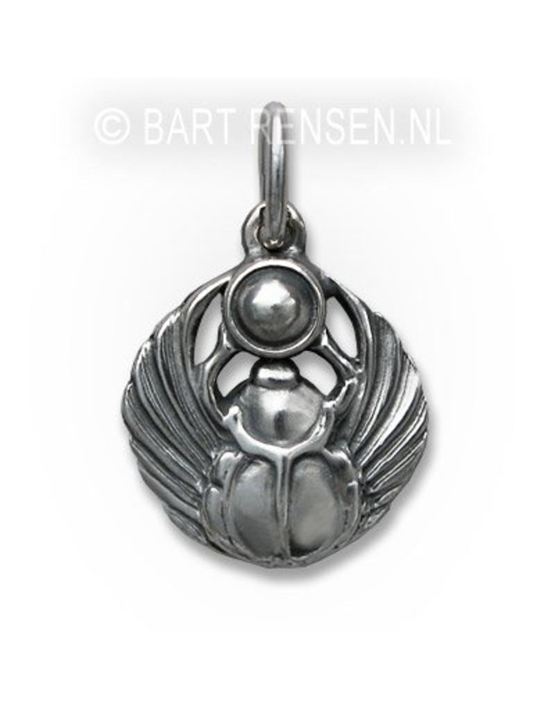 Scarabee pendant - sterling silver