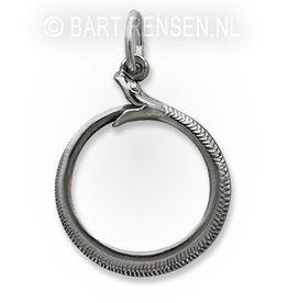 Ouroboros pendant  - silver