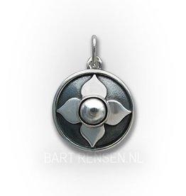 Stuit Chakra hanger - zilver