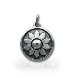 Zonnevlecht Chakra hanger - zilver