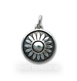 Keel Chakra hanger - zilver
