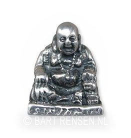 Lachende Boeddha - zilver