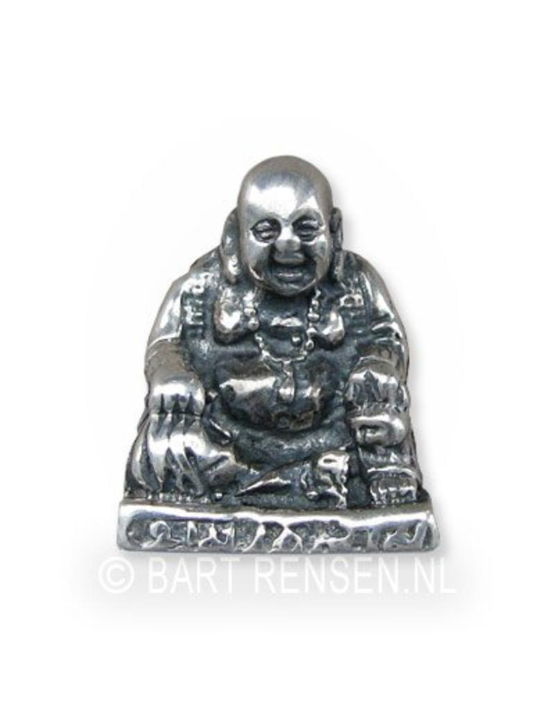 Laughing buddha pendant silver laughing buddha pendant sterling silver aloadofball Image collections