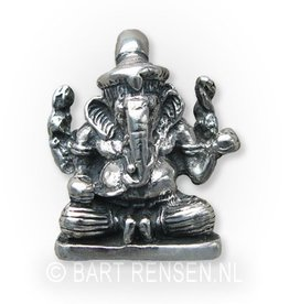 Ganeesha hanger - zilver