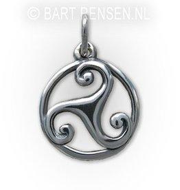 Triskel Pendant - Silver
