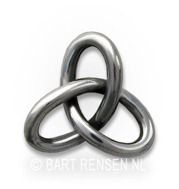 Gordian Knot pendant - silver