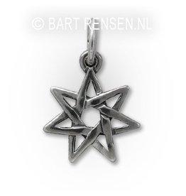 Seven Star Pendant - Silver