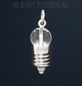 Lampje hanger - zilver