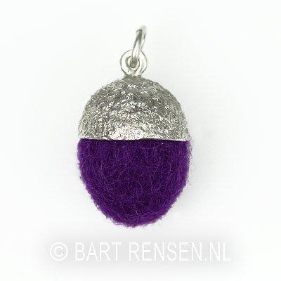 Acorn pendant - silver 925