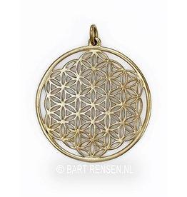 Gouden Flower of Life hanger