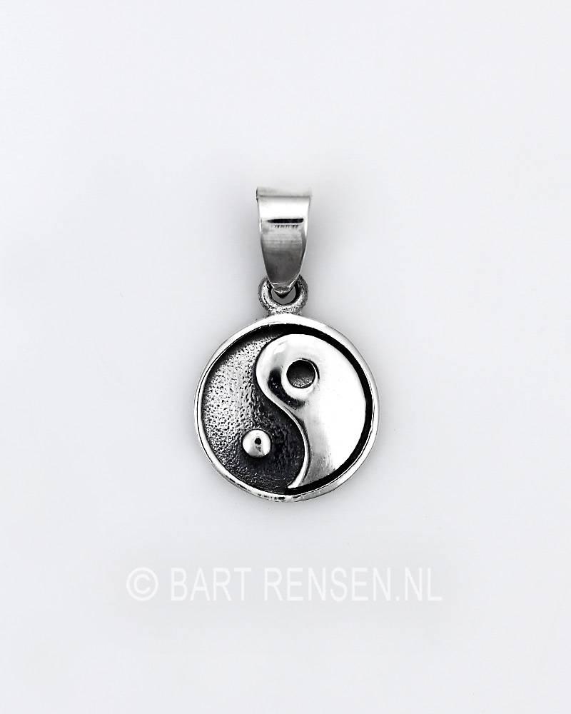 Yin yang pendant silver yin yang pendant sterling silver aloadofball Choice Image