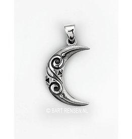 Zilveren Maan hanger
