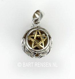 Pentagram ball Pendant