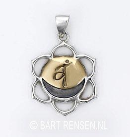 Sex Cakra pendant - silver