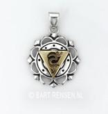 Throat Chakra pendant - silver 925