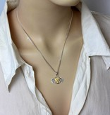 Forehead Chakra pendant - silver 925