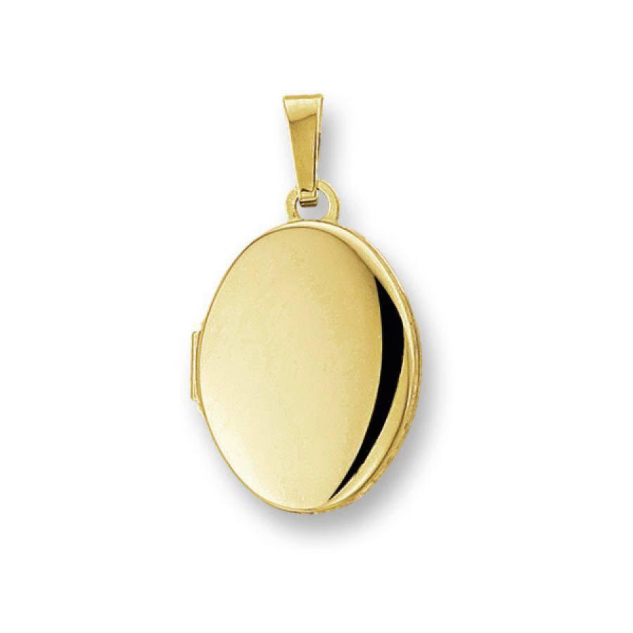 Geliebte Gouden Medaillon hanger - 14 krt - @NY_35