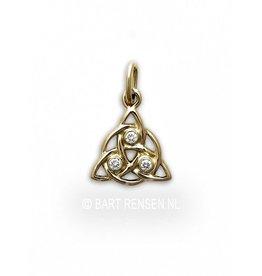 Golden Triquetra pendant