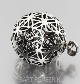 Zilveren Flower of Life hanger
