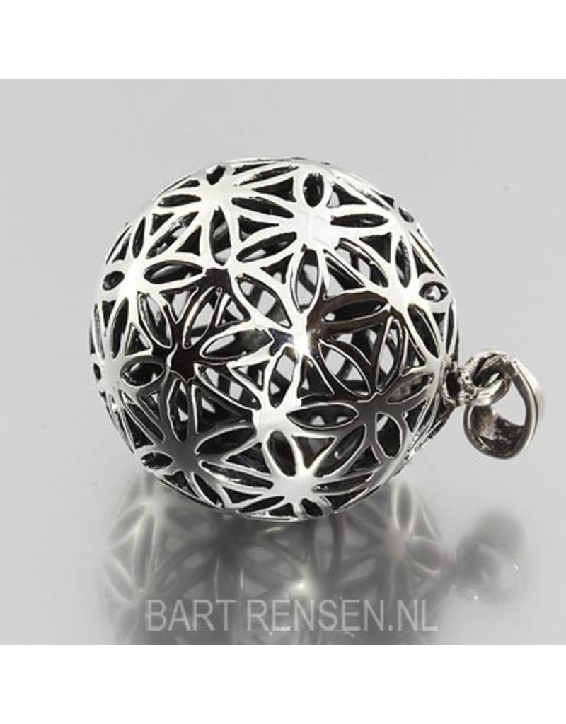 Flower of life pendant silver 925 flower of life pendant sterling silver mozeypictures Gallery