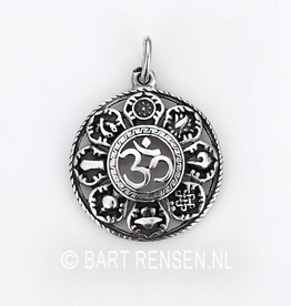 AUM pendant with lucky symbols - Copy