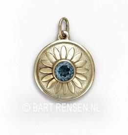 Ash pendant Lotus - gold