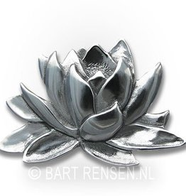 Lotus Brooch - Silver
